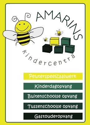 Grafisch ontwerp voor Amarins Kindercentra