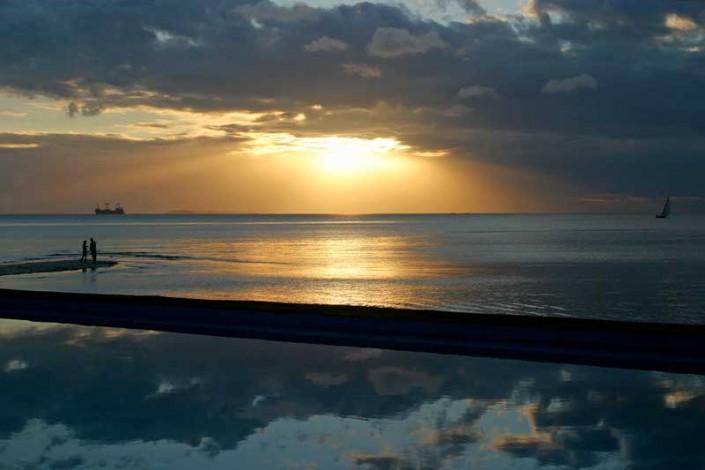 Zanzibar zeezicht