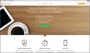 Impress.ly voor mobiele websites